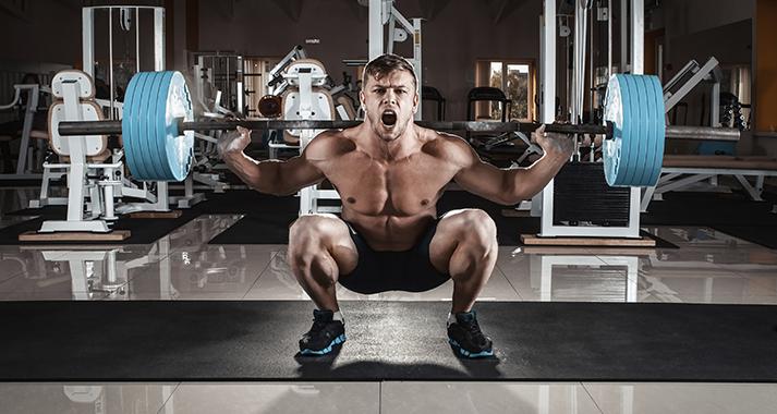 Las sentadillas fortalecerán tus músculos para el sexo (istock)