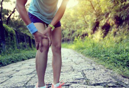Lesión de rodilla típica del corredor (iStock)