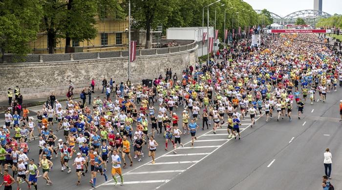 Maratón de Riga, en Letonia. amoklv (iStock) Correr un maraton