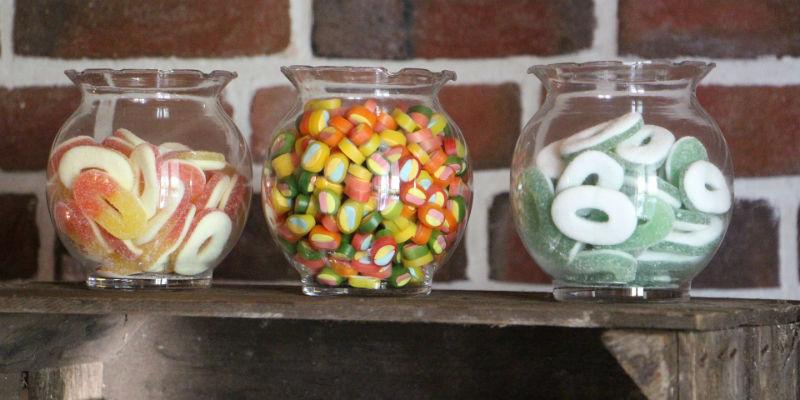 Las gominolas solo aportan calorías vacías (Pixabay)
