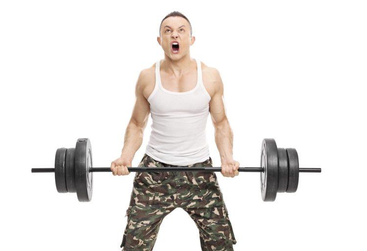 Tipos de gente en el gimnasio ruidoso