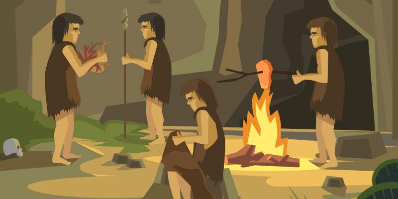 La paleodieta imita la alimentación de los hombres de la Edad de Piedra (iStock)