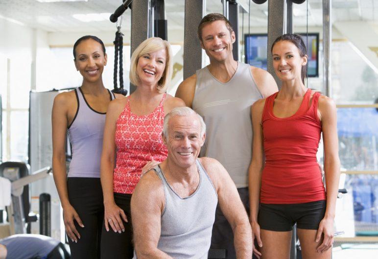 Tipos de gente en el gym