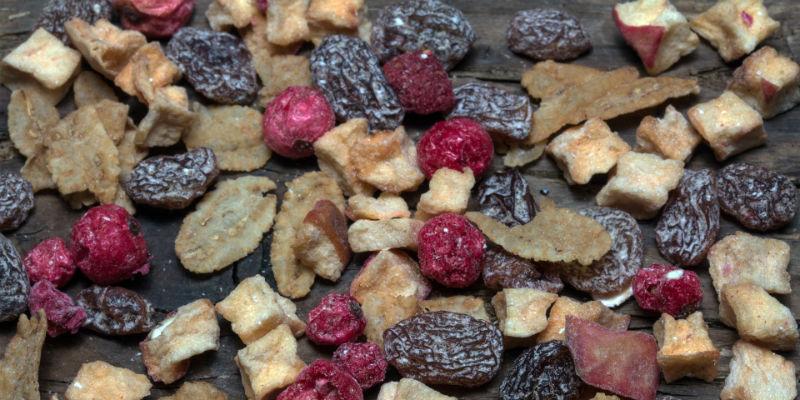 Algunas frutas, al secarse, contienen una mayor concentración de azúcares por lo que pueden provocar gases (Pixabay)
