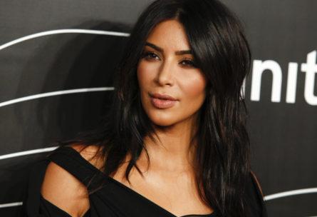 La mayor de las Kardashian, Kim, posando en una entrega de premios (Gtres)