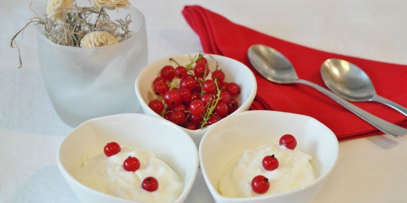 El yogur ayuda al proceso de la digestión (Pixabay)