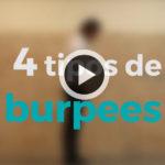 4 tipos de burpees