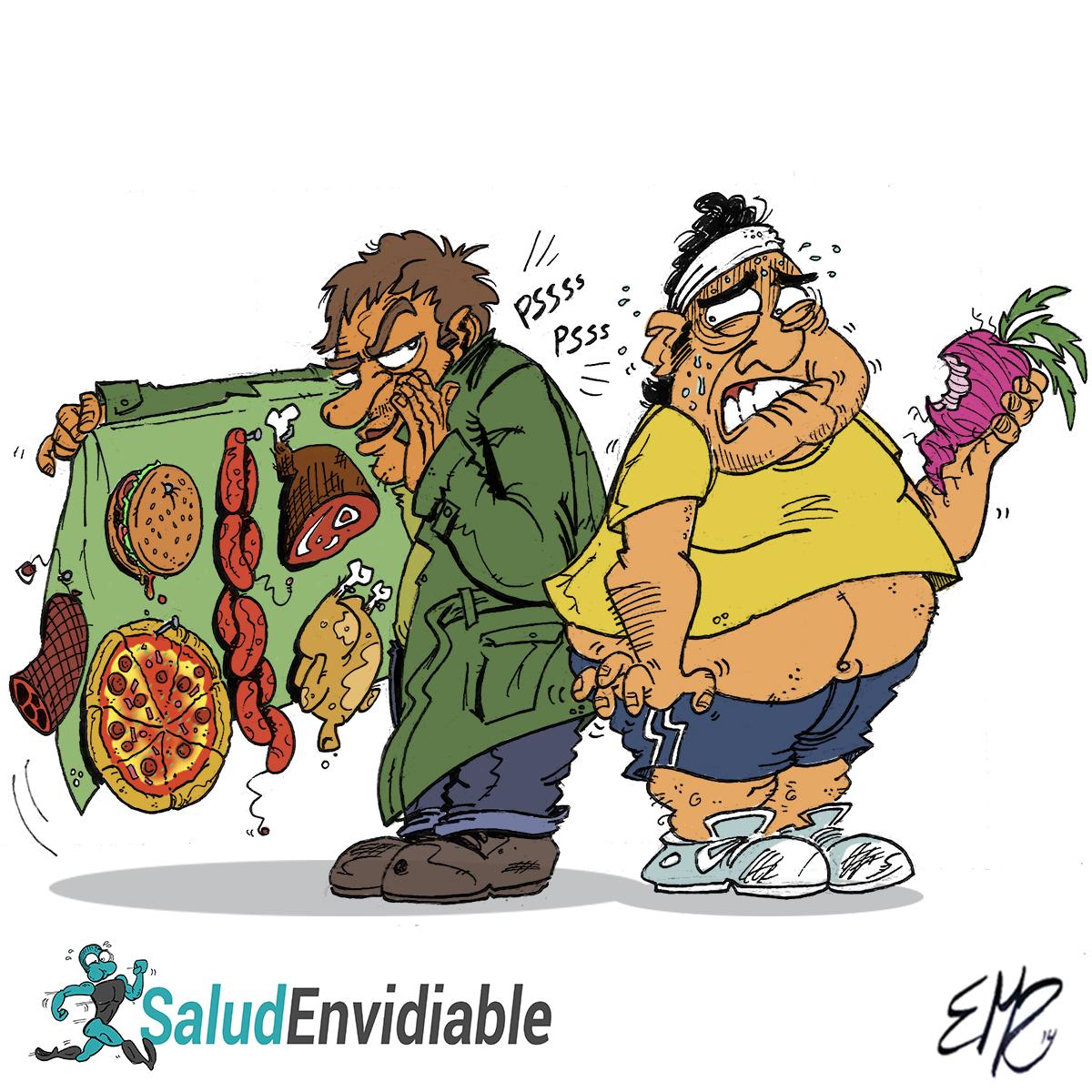 Viñeta Dieta