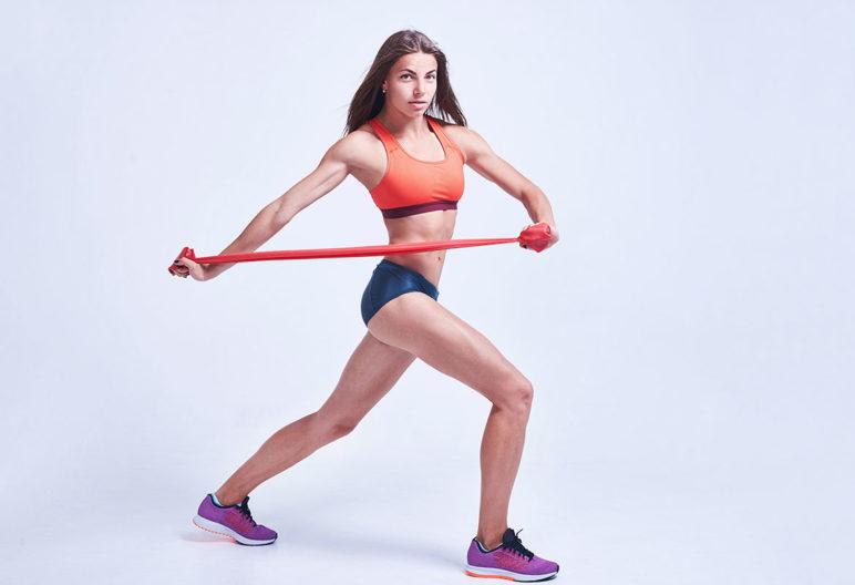 Hay una gran variedad de ejercicios con minibandas (iStock)