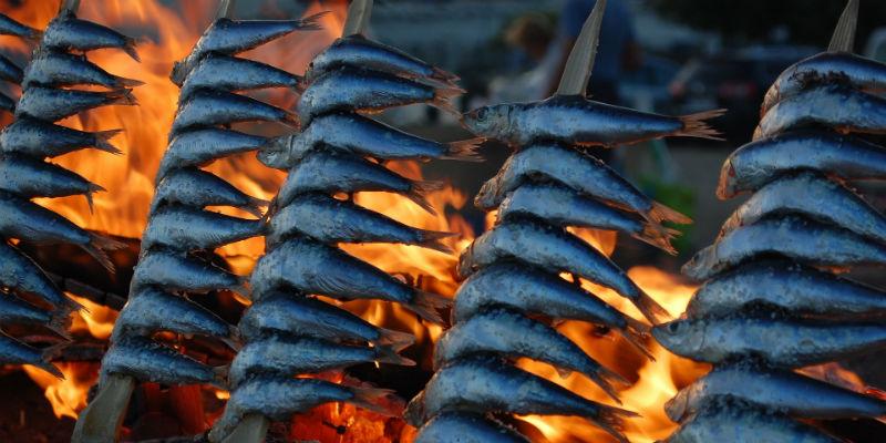Las sardinas son una de las mejores fuentes de calcio (Pixabay)