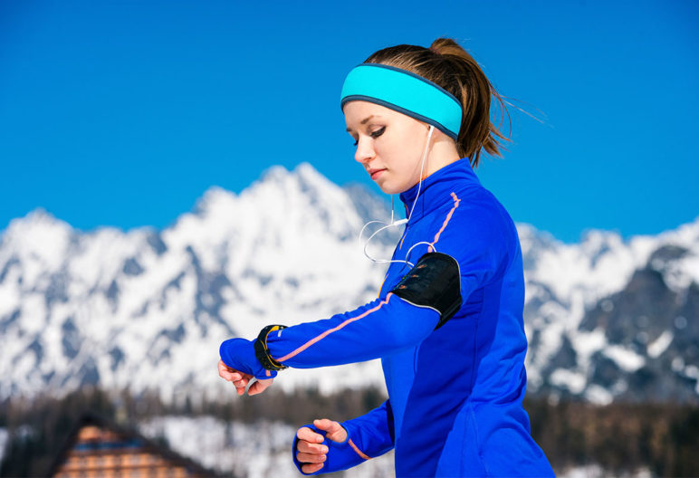 La ropa térmica hace más fácil entrenar al aire libre en invierno (iStock)