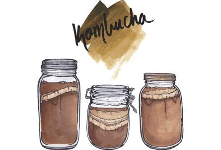 Te fermentado de kombucha (iStock)