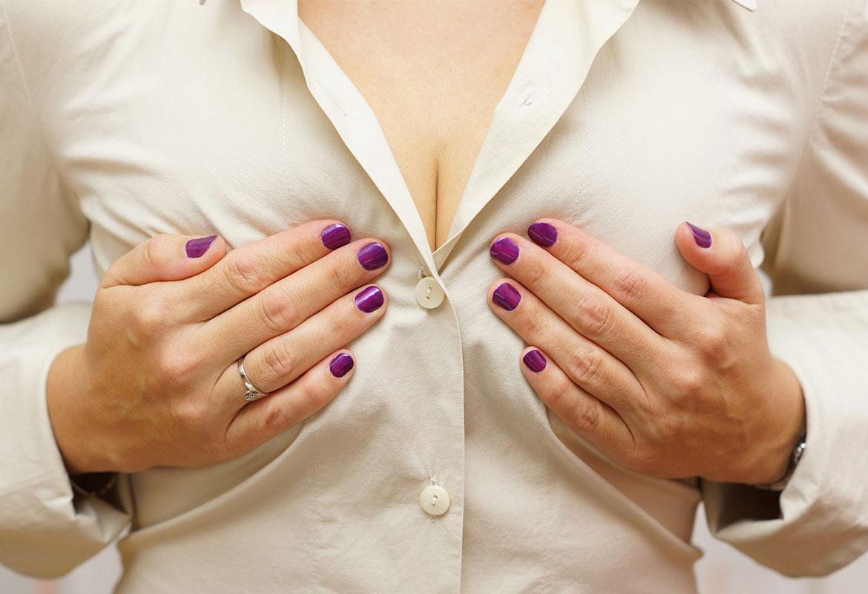 Es difícil evitar la caída de los pechos. (iStock).