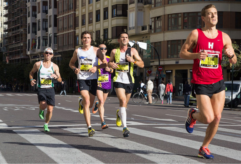 Para correr un maratón hay que entrenar duro. (iStock).