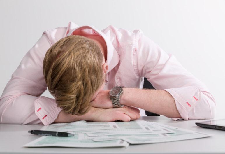 ¿Te has quedado dormido en la oficina? (GTRES)