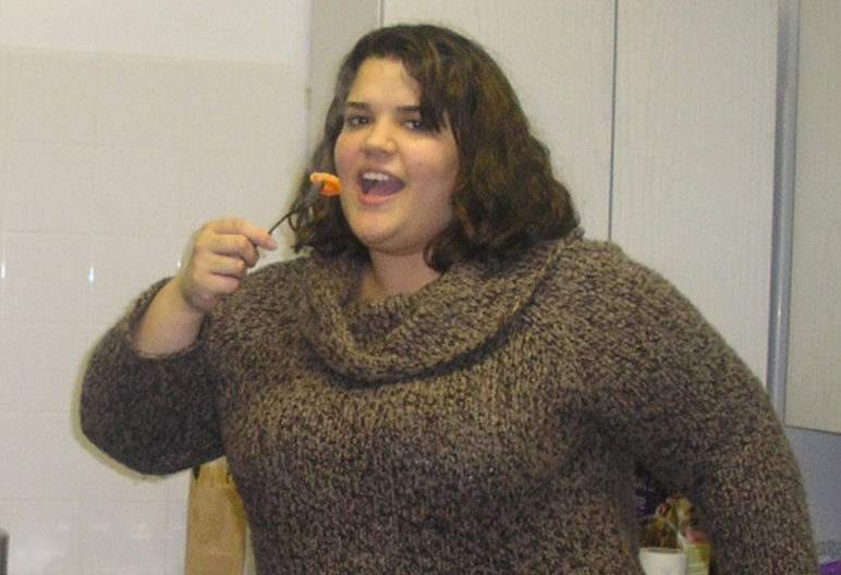 Alexa Fears, antes de probar la dieta cetogénica (PA Real Life)