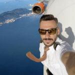Los increíbles 'selfies' de este piloto de avión: ¿realidad o fake?