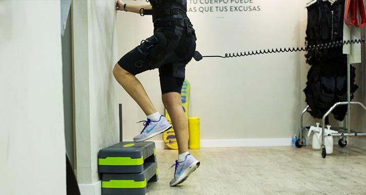 Con electroestimulación se pueden trabajar distintas zonas del cuerpo (Pixabay)