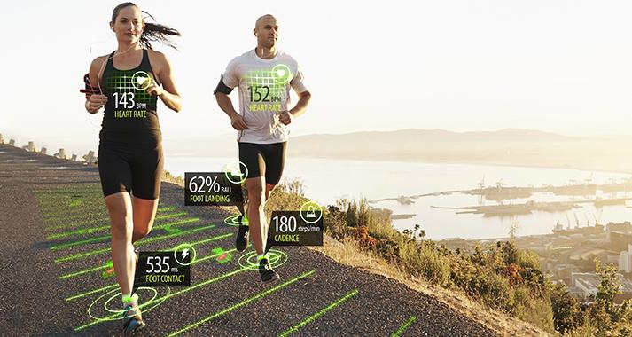 Este wearable te dirá cuantos km haces y si corres correctamente (Sensoria)