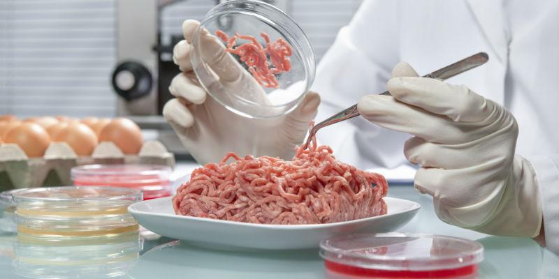Carne procesada en laboratorio (iStock)