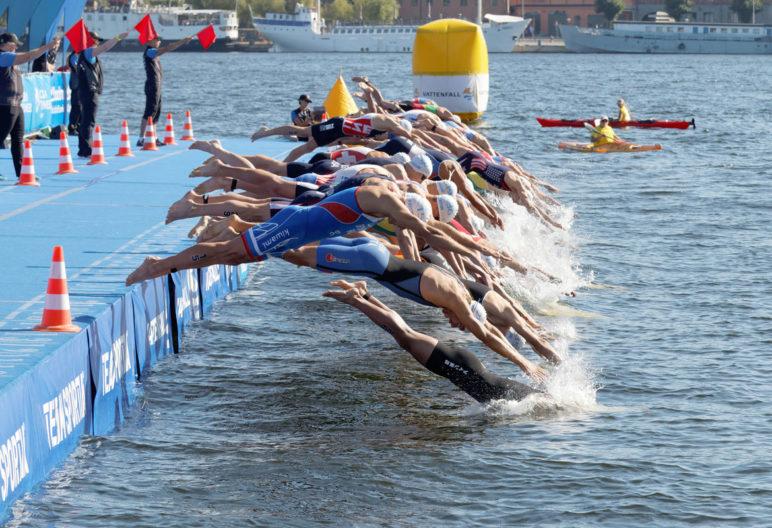 Hay varios triatlones entre los eventos deportivos que se celebrarán en Madrid este verano (iStock)