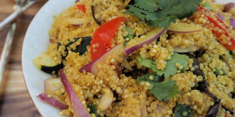 La quinoa tiene el doble de proteínas y fibra que cualquier otro cereal de su especie (Pixabay)