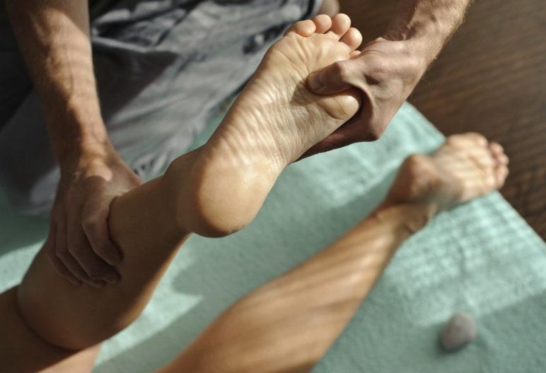 Masaje de pies (iStock)