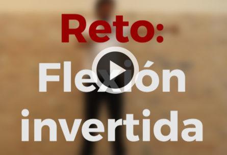 flexión invertida