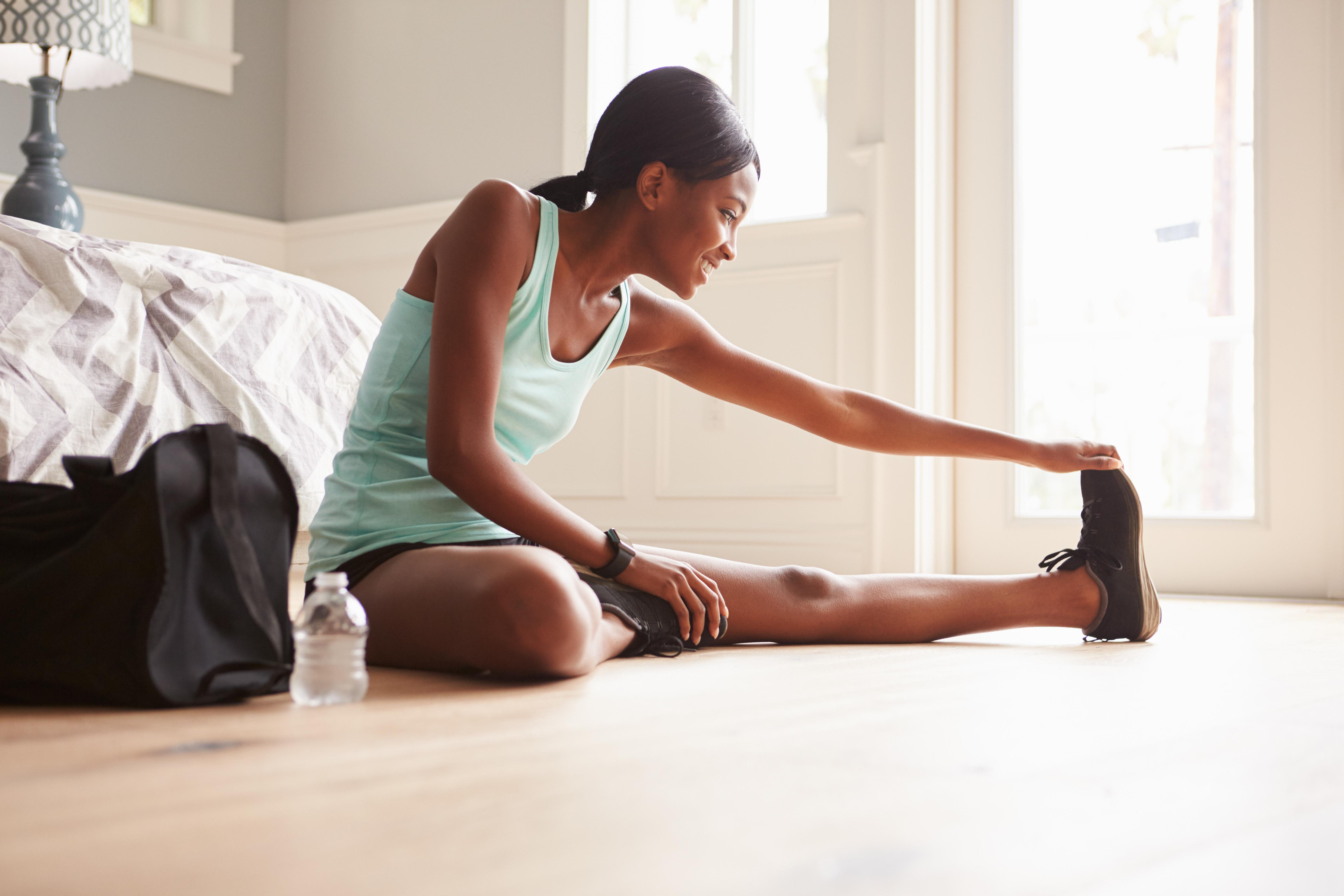 Hay muchos tipos de estiramientos para las piernas (iStock)