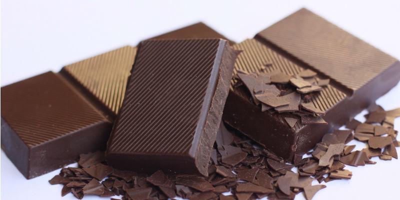 El chocolate es una sabrosa manera de darse un capricho de tan sólo 100 calorías por porción (25 gr.) (Pixabay)