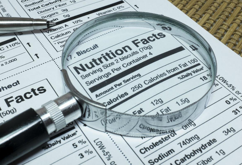 Tabla nutricional azucar glass