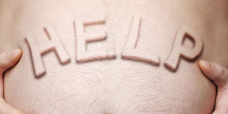 El sobrepeso masculino afecta a su vida sexual. (iStock)