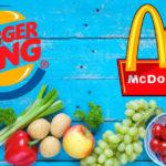 McDonald's y Burger King se pasan a la comida sana y eliminan las patatas fritas