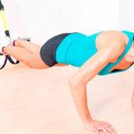 10 ejercicios para brazos TRX