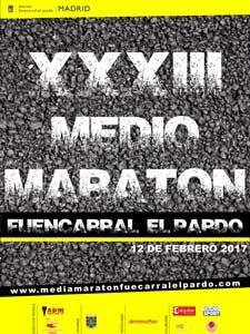 cartel medio maraton fuencarral el pardo