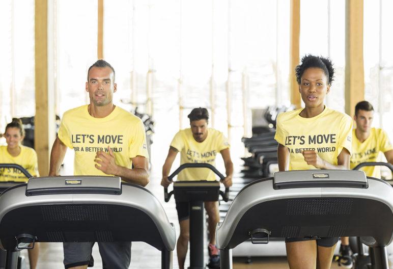 'Let's Move for a Better World' entrena y ayuda a entrenar