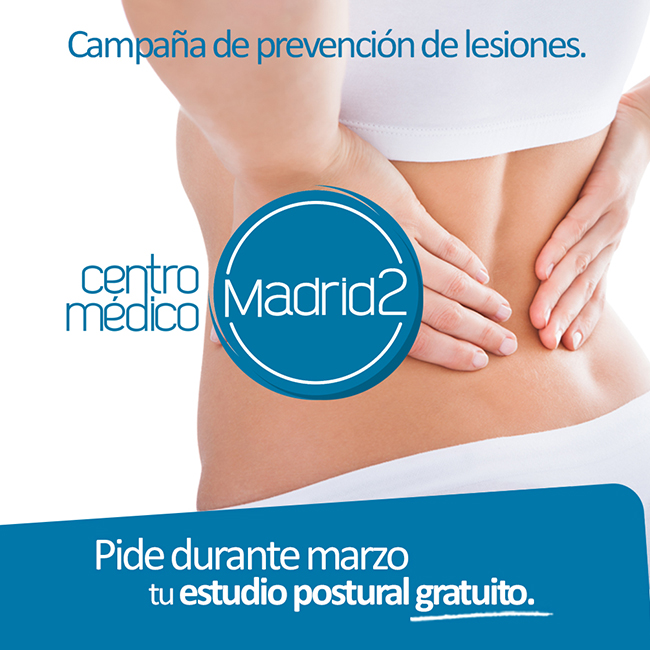 El centro médico madrid2 organiza Campaña Prevención Lesiones