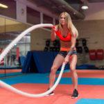 Conoce el Battle Ropes: el entrenamiento de las famosas