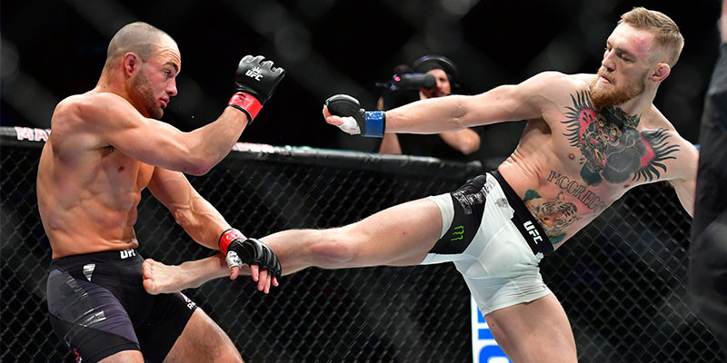 McGregor destaca por su agilidad y anticipación (GTRESONLINE)