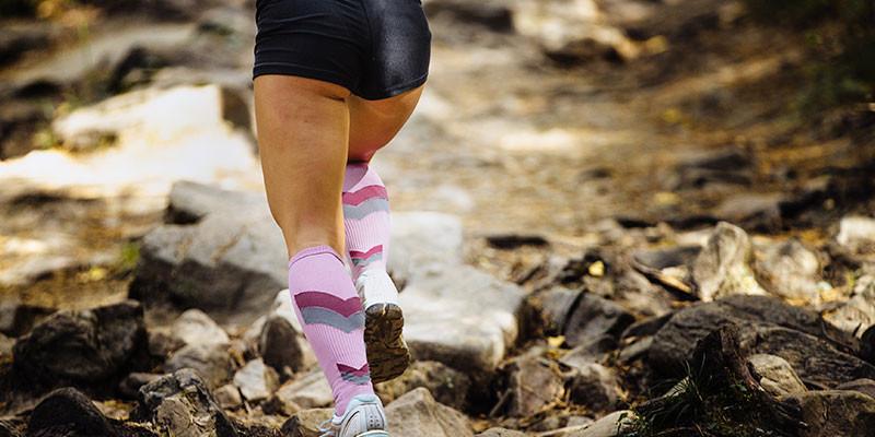 Las medias deportivas mantienen la temperatura corporal (iStock)