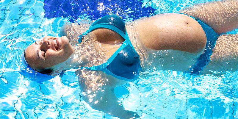 Sensación de ligereza en el agua (iStock)