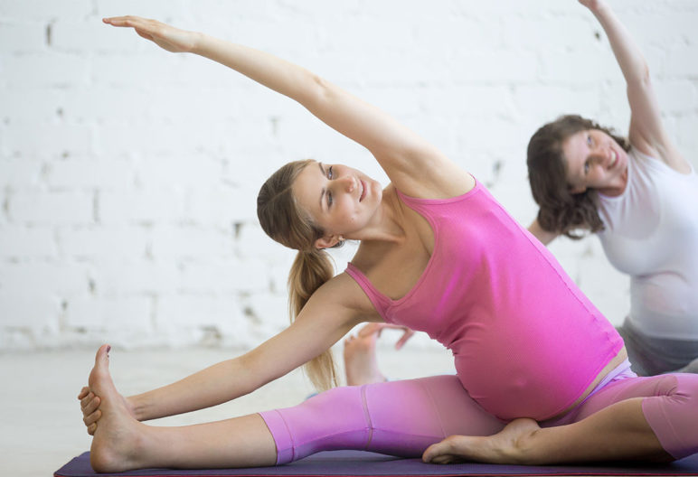 Se puede –y se debe– hacer deporte durante el embarazo (iStock)