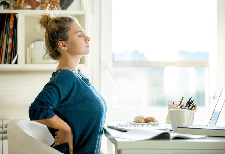 El lumbago es un dolor en la parte baja de la espalda (iStock)