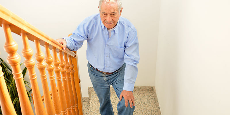 A casa por las escaleras (iStock)