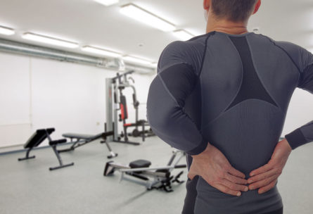 Las molestias por ciática comienzan en la parte inferior de la espalda (iStock)